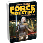 FFG - Star Wars RPG: Force and Destiny - Arbiter Specialization Deck - EN