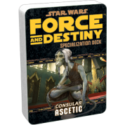 FFG - Star Wars RPG: Force and Destiny - Ascetic Specialization Deck - EN