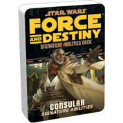 FFG - Star Wars RPG: Force and Destiny - Consular Signature Abilities Specialization Deck - EN