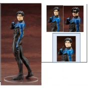DC COMICS - NIGHTWING IKEMEN Statue 24cm (1st edition with bonus part)