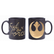 Funko POP! Homewares Star Wars Episode 8: The Last Jedi - Mug Feel The Force (Rebel Logo)
