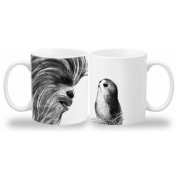 Funko POP! Homewares Star Wars Episode 8: The Last Jedi - Mug Chewbacca & Porgs