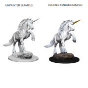Pathfinder Deep Cuts Unpainted Miniatures - Unicorn (6 Units)