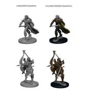 Pathfinder Deep Cuts Unpainted Miniatures - Elf Male Fighter (6 Units)