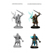 Pathfinder Deep Cuts Unpainted Miniatures - Human Male Cleric (6 Units)
