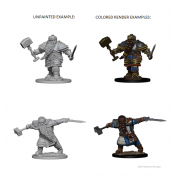 D&D Nolzur's Marvelous Unpainted Miniatures - Dwarf Male Fighter (6 Units)