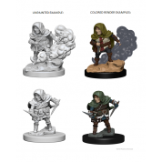 D&D Nolzur's Marvelous Unpainted Miniatures - Halfling Male Rogue (6 Units)