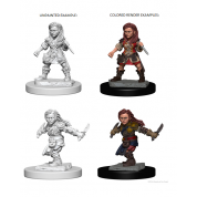 D&D Nolzur's Marvelous Unpainted Miniatures - Halfling Female Rogue (6 Units)