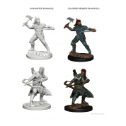 D&D Nolzur's Marvelous Unpainted Miniatures - Human Male Ranger (6 Units)