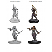 D&D Nolzur's Marvelous Unpainted Miniatures - Elf Female Ranger (6 Units)