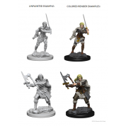 D&D Nolzur's Marvelous Unpainted Miniatures - Human Female Barbarian (6 Units)