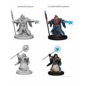 D&D Nolzur's Marvelous Unpainted Miniatures - Dwarf Male Wizard (6 Units)