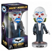DC Comics Batman The Dark Knight Movie JOKER Bank Robber 7-inch Bobble Head Wacky Wobbler