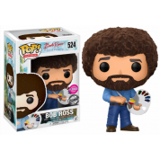 Funko POP! - Bob Ross (Flocked) - Vinyl Figure 10cm