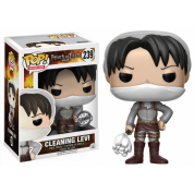 Funko POP! Attack on Titan - Cleaning Levi Vinyl Figure 10cm