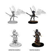 D&D Nolzur's Marvelous Miniatures - Aasimar Female Paladin (6 Units)