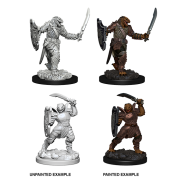 D&D Nolzur's Marvelous Miniatures - Dragonborn Female Paladin (6 Units)