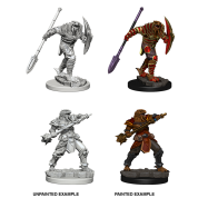 D&D Nolzur's Marvelous Miniatures - Dragonborn Male Fighter with Spear (6 Units)