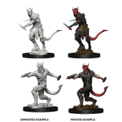 D&D Nolzur's Marvelous Miniatures - Tiefling Male Rogue (6 Units)