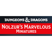 D&D Nolzur's Marvelous Miniatures - Water Genasi Male Druid (6 Units)