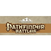 Pathfinder Deep Cuts Unpainted Miniatures - Medium Fire Elemental (6 Units)