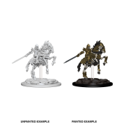 Pathfinder Deep Cuts Unpainted Miniatures - Skeleton Knight on Horse (6 Units)