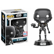 Funko POP! Star Wars: Rogue One - Battle Damaged K-2SO Vinyl Figure 10cm 2017 Fall Convention Exclusive