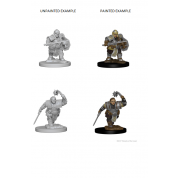 D&D Nolzur's Marvelous Miniatures - Dwarf Female Fighter (6 Units)