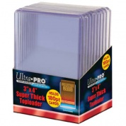"UP - Toploader - 3"" x 4"" Super Thick 180PT (10 pieces)"
