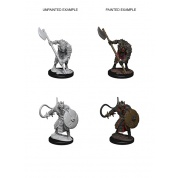 Pathfinder Deep Cuts Unpainted Miniatures - Gnolls (6 Units)