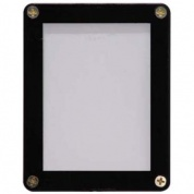 UP - 1-Card Black Frame Screwdown Holder