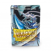 Dragon Shield Small Sleeves - Japanese Matte Clear (60 Sleeves)
