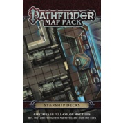 Pathfinder Map Pack: Starship Decks - EN