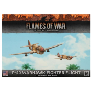 Flames of War - P40 Warhawk Fighter Flight (2x) - EN