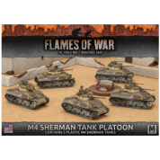 Flames of War - M4 Sherman Tank Platoon (5x) - EN