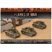 Flames of War - M7 Priest Armored Artillery Battery (3x) - EN