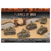 Flames of War - M3 Stuart Light Tank Platoon (5x) - EN