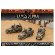 Flames of War - T30 75mm Assault Gun Platoon (3x) - EN