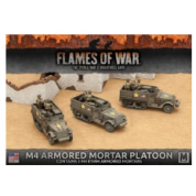 Flames of War - M4 81mm Armored Mortar Platoon (3x) - EN