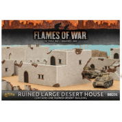 Flames of War - Ruined Large Desert House (x1) - EN