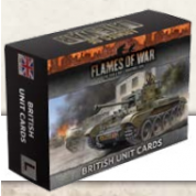 Flames of War: Armies Of Late-War British Unit Cards - EN