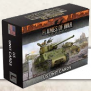 Flames of War: Armies Of Late-War US Unit Cards - EN