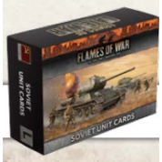 Flames of War: Armies Of Late-War Soviet Unit Cards - EN