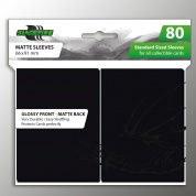 Blackfire Standard Sleeves - Black (80 Sleeves)