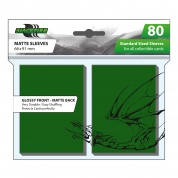 Blackfire Standard Sleeves - Green (80 Sleeves)