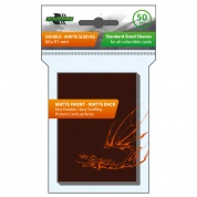 Blackfire Sleeves - Standard Double-Matte Brown (50 Sleeves)
