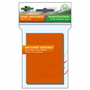 Blackfire Sleeves - Standard Double-Matte Orange (50 Sleeves)