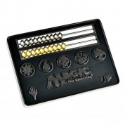 UP - Card Size Abacus Life Counter for Magic: The Gathering - Black