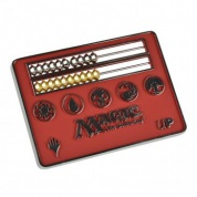 UP - Card Size Abacus Life Counter for Magic: The Gathering - Red