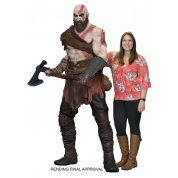 God Of War (2017) Kratos Life-Size Foam Prop Replica 190,5cm